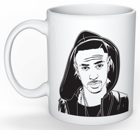 Big Sean 11 0Z Ceramic White Mug // IDFWU Blessings Dark Sky Paradise