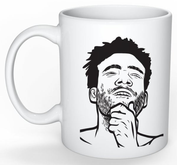 Childish Gambino 11 0Z Ceramic White Mug // Donald Glover 3005 // Babes & Gents // www.babesngents.com