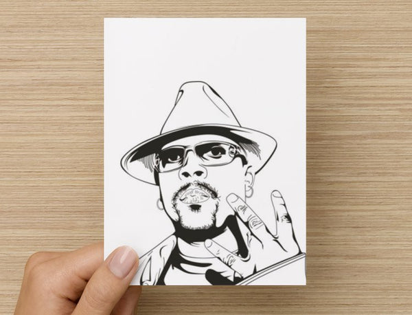 Nate Dogg Valentines / Anniversary / Birthday / Christmas Card // Hip Hop // Babes & Gents //  www.babesngents.com