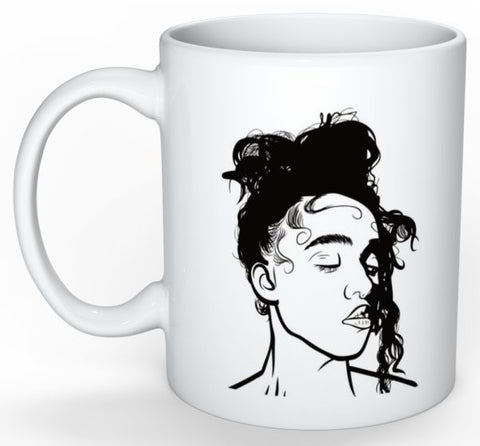 FKA Twigs 11 0Z Ceramic White Mug // M3LL155X LP1 British