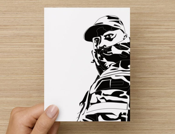 Skepta Grime Valentines / Anniversary / Birthday / Christmas Card // Shutdown // Babes & Gents //  www.babesngents.com