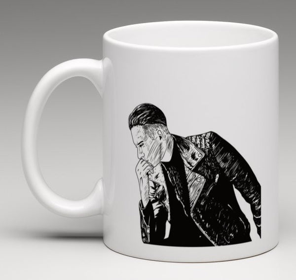 G-eazy When its dark out 11 0Z Ceramic White Mug // geazy g eazy leather jacket  // Babes & Gents // www.babesngents.com