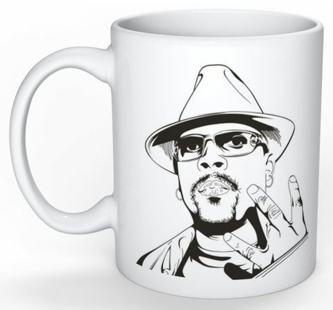 Nate Dogg 11 0Z Ceramic White Mug // hip hop