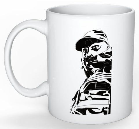 Skepta Grime 11 0Z Ceramic White Mug // shutdown London