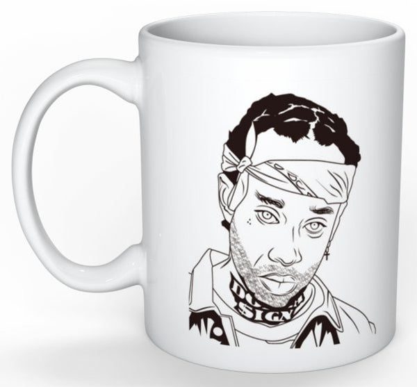 Ty Dolla Sign 11 0Z Ceramic White Mug // TYS Free TC Blase Taylor Gang // Babes & Gents // www.babesngents.com