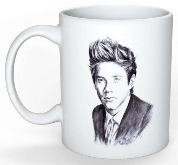 Niall Horan One Direction 1D 11 0Z Ceramic White Mug // Babes & Gents // www.babesngents.com