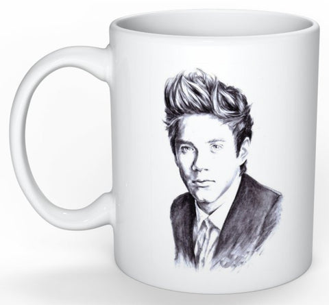 Niall Horan One Direction 1D 11 0Z Ceramic White Mug