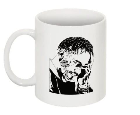 Travis Scott La Flame Rodeo 11 0Z Ceramic White Mug