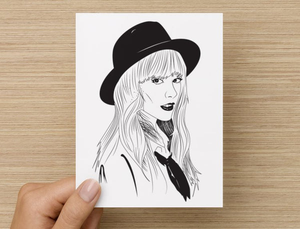 Taylor Swift Valentines / Anniversary / Birthday / Christmas Card // 1989 Shake it off // Babes & Gents //  www.babesngents.com