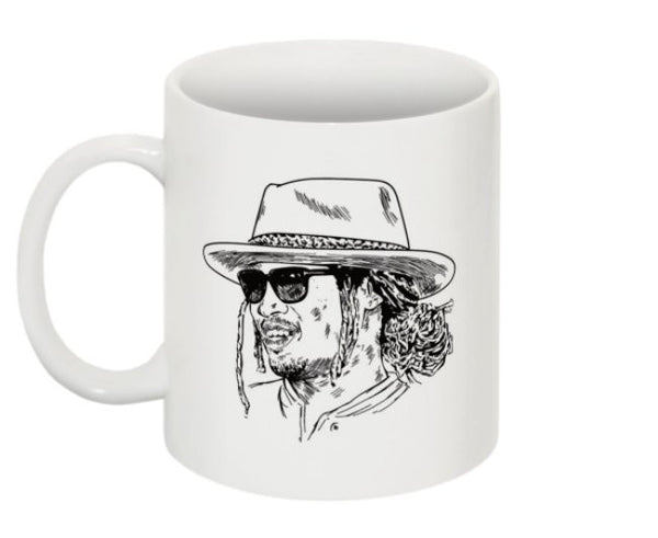 Future Hendrix 11 0Z Ceramic White Mug // Freebandz DS2 what a time Dirty Sprite // Babes & Gents // www.babesngents.com