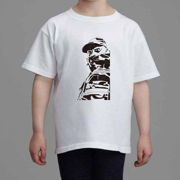 Skepta Kids White Tee (Unisex) // Grime shutdown topboy thats not me Konnichiwa London // Babes & Gents // www.babesngents.com