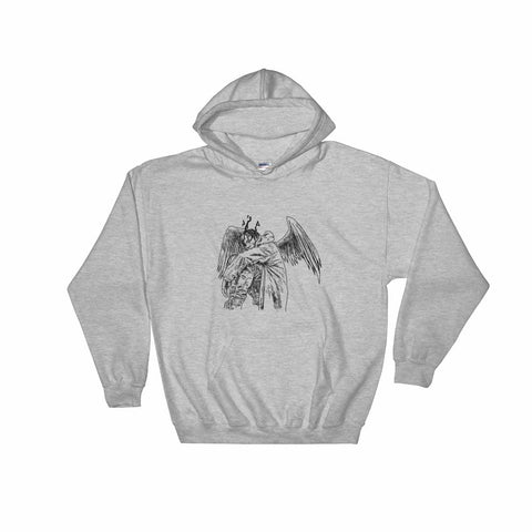 Travis Scott ''Birds'' Grey Hoodie Sweater (Unisex)