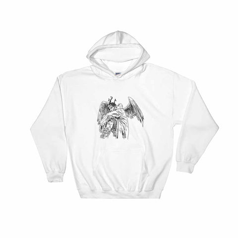 Travis Scott ''Birds'' White Hoodie Sweater (Unisex)
