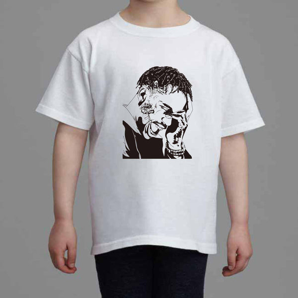 Travis Scott La Flame Rodeo Kids White Tee (Unisex) // kanye madness weeknd // Babes & Gents // www.babesngents.com