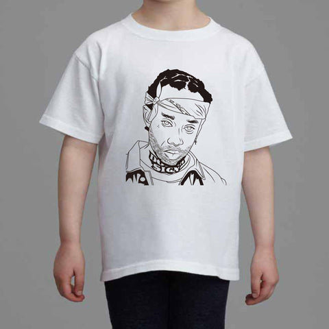 Ty Dolla Sign Kids White Tee (Unisex) // TYS Free TC Blase Airplane Mode Taylor Gang