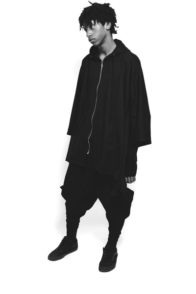 """We are in a Dreamworld"" Zip up Hooded Poncho // Zargara Season 5 ""Be Your Own Kind"""