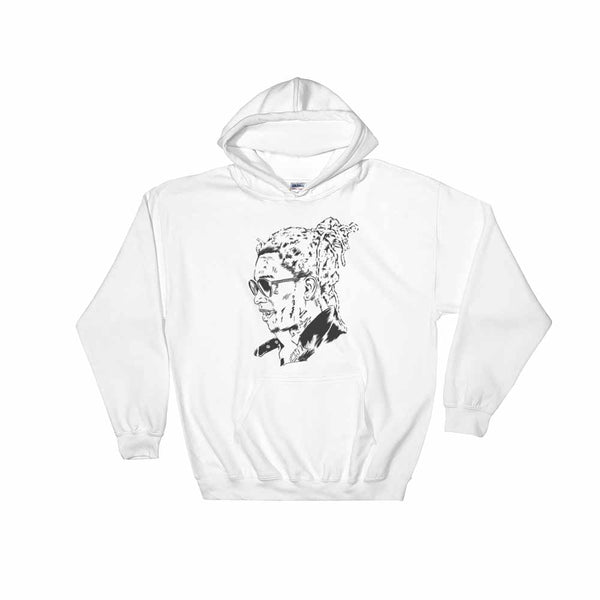 Young Thug White Hoodie Sweater (Unisex) , Babes & Gents, Ottawa
