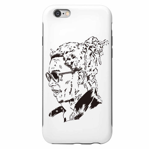 Young Thug Apple IPhone 4 5 5s 6 6s Plus Galaxy Case // Slime season barter 6 thugger stoner cesar the ape