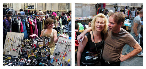 Flea market in Munich