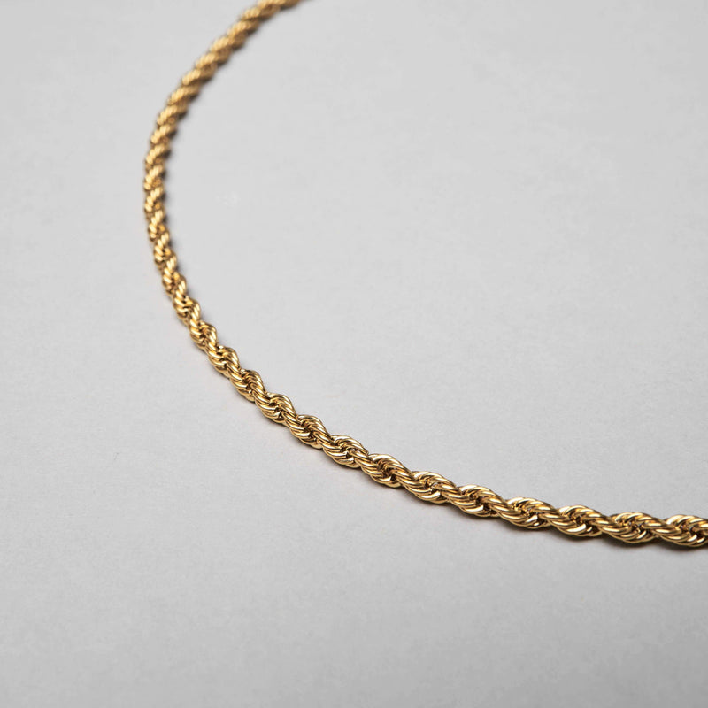 ROPE CHAIN - GOLD
