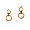 CENTER KNOT COMBO MESH EARRINGS - Bridget King Jewelry