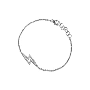 BABY LIGHTNING DIAMOND BRACELET - Bridget King Jewelry