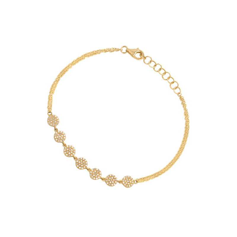 7-DOT DIAMOND BRACELET - Bridget King Jewelry