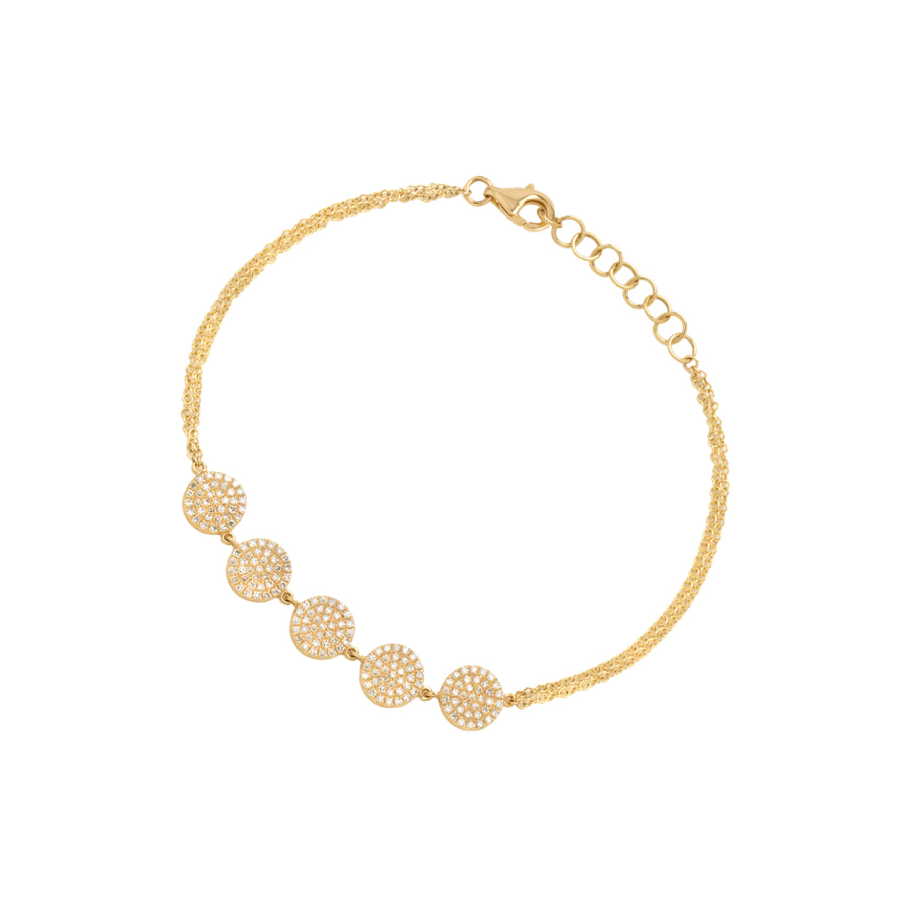 5-DOT DIAMOND BRACELET - Bridget King Jewelry