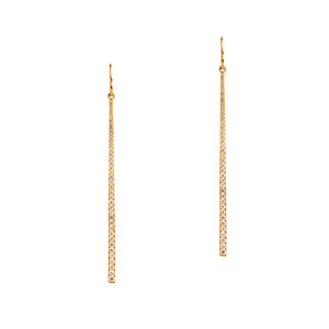 DIAMOND STICK EARRINGS - Bridget King Jewelry