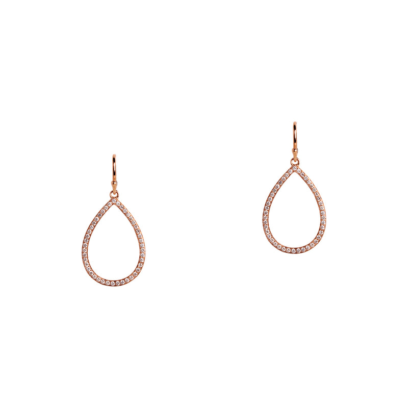 SMALL DIAMOND TEARDROPS - Bridget King Jewelry