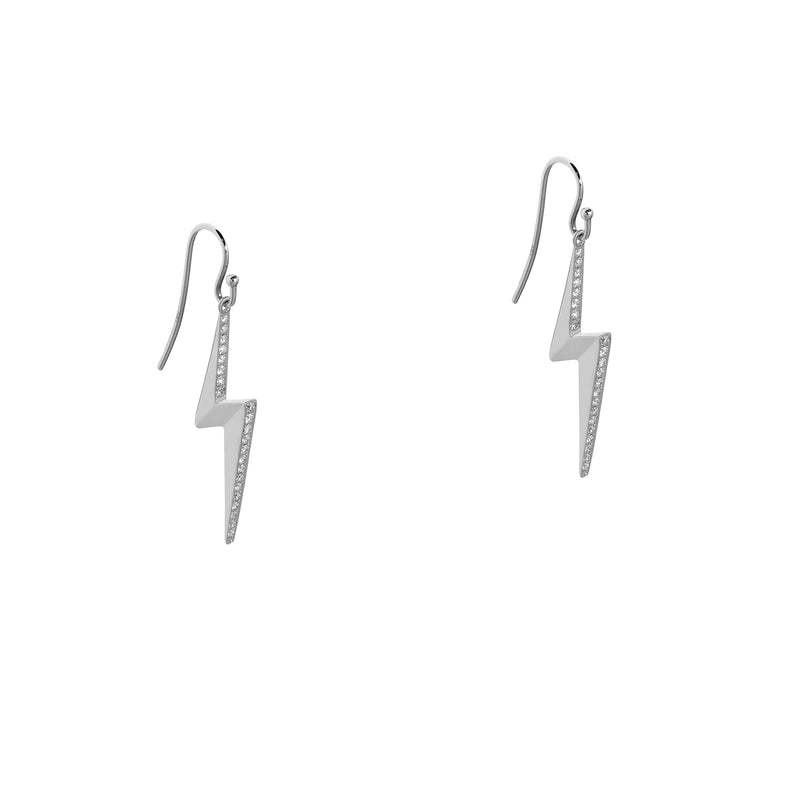 LIGHTNING DIAMOND EARRINGS - Bridget King Jewelry