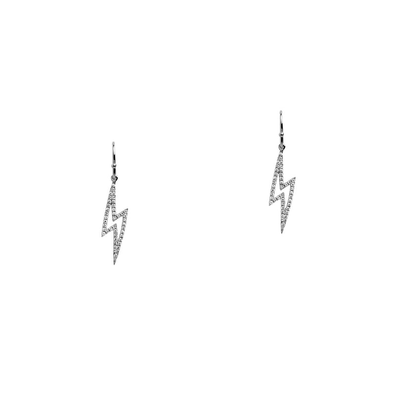 BABY LIGHTNING DIAMOND EARRINGS - Bridget King Jewelry