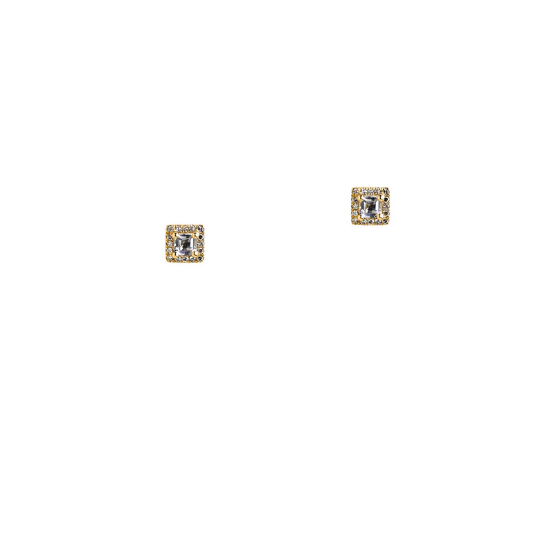 SQUARE STUDS - Bridget King Jewelry