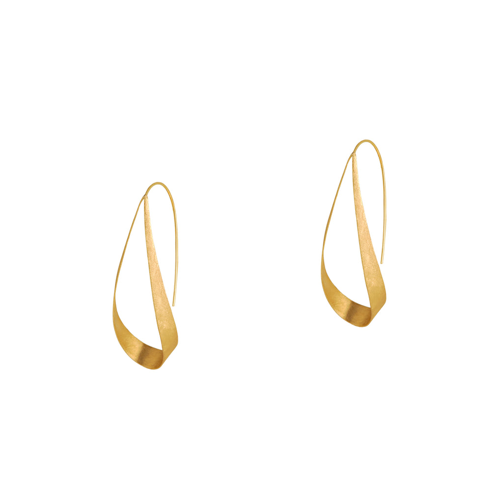 WINGS EARRINGS 2″ - Bridget King Jewelry