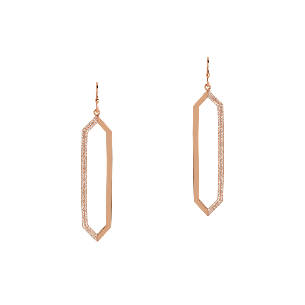 MIRROR IMAGE EARRINGS - Bridget King Jewelry