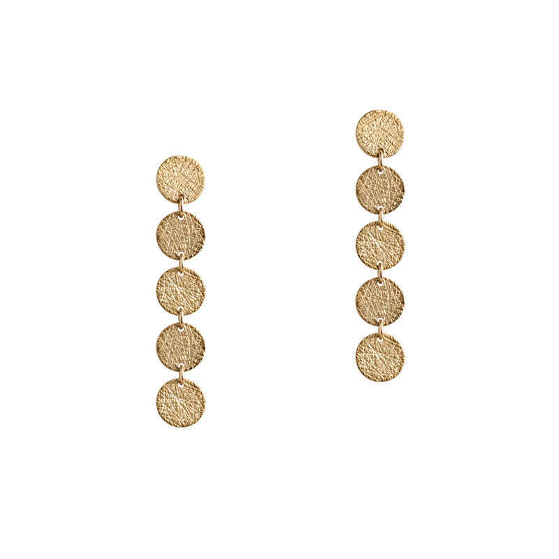 5-DOT EARRINGS - Bridget King Jewelry