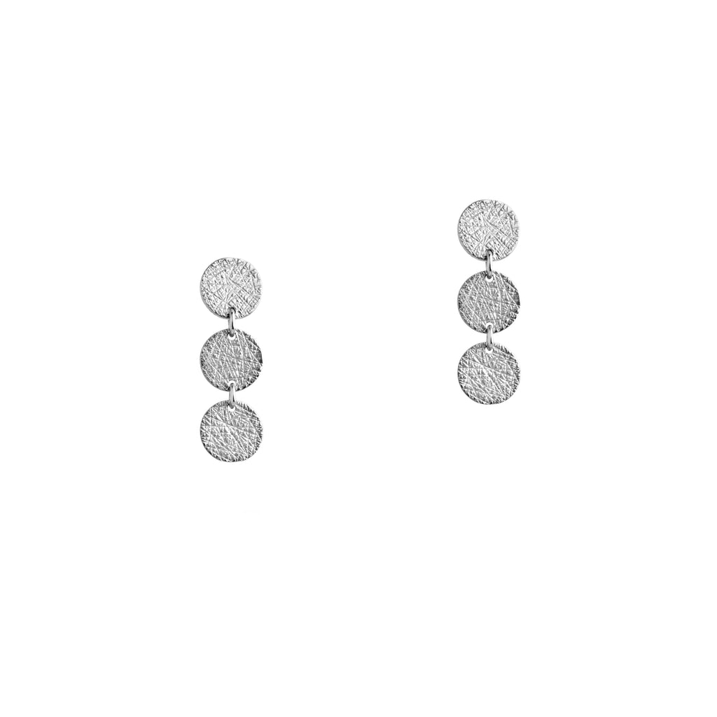 3-DOT EARRINGS - Bridget King Jewelry