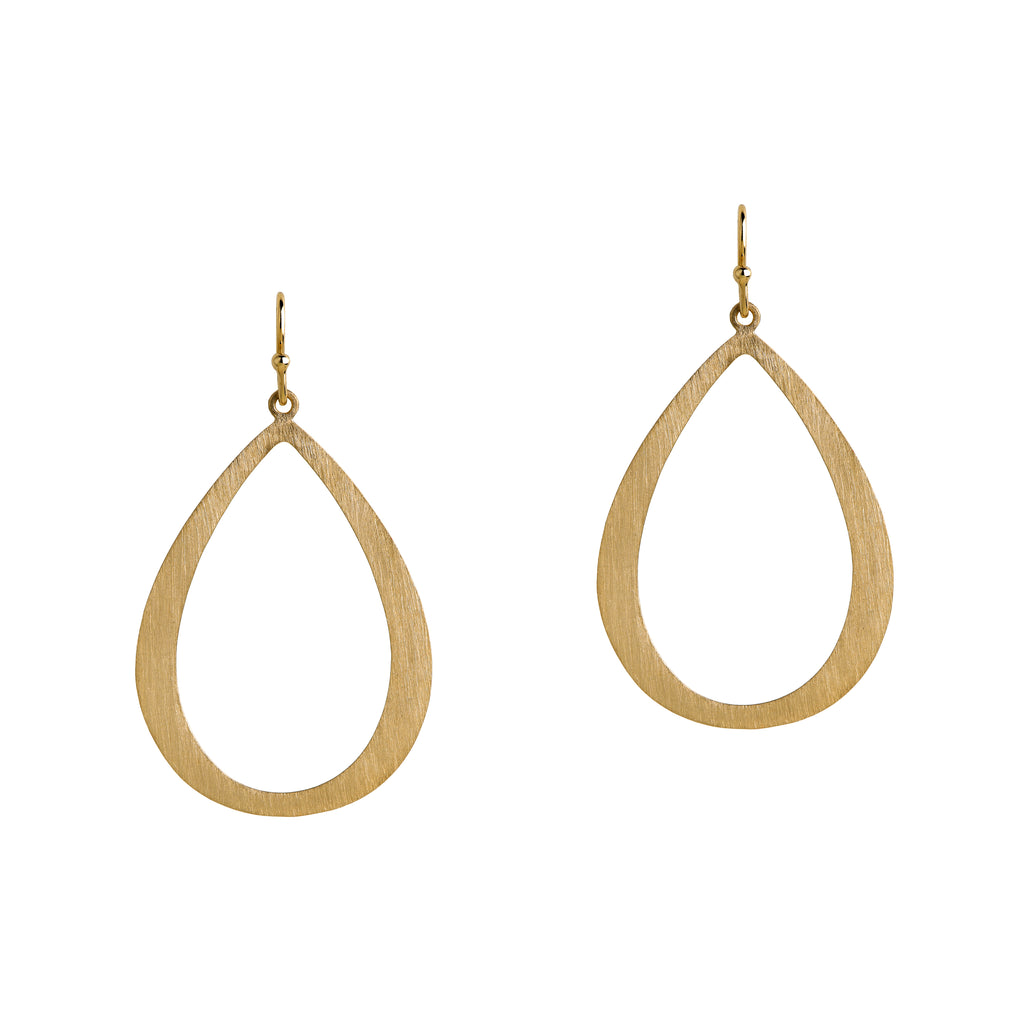 MEDIUM STACKABLE TEARDROPS - Bridget King Jewelry
