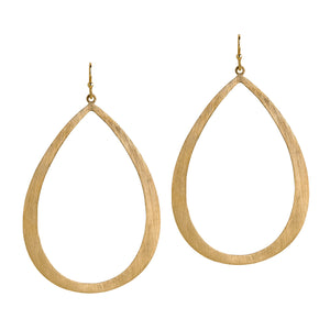 LARGE STACKABLE TEARDROPS - Bridget King Jewelry