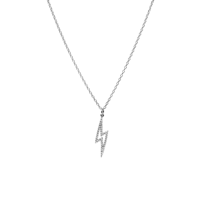 BABY LIGHTNING DIAMOND NECKLACE - Bridget King Jewelry