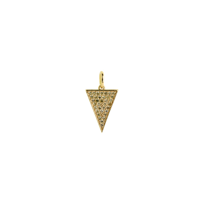 DIAMOND TRIANGLE PENDANT - Bridget King Jewelry