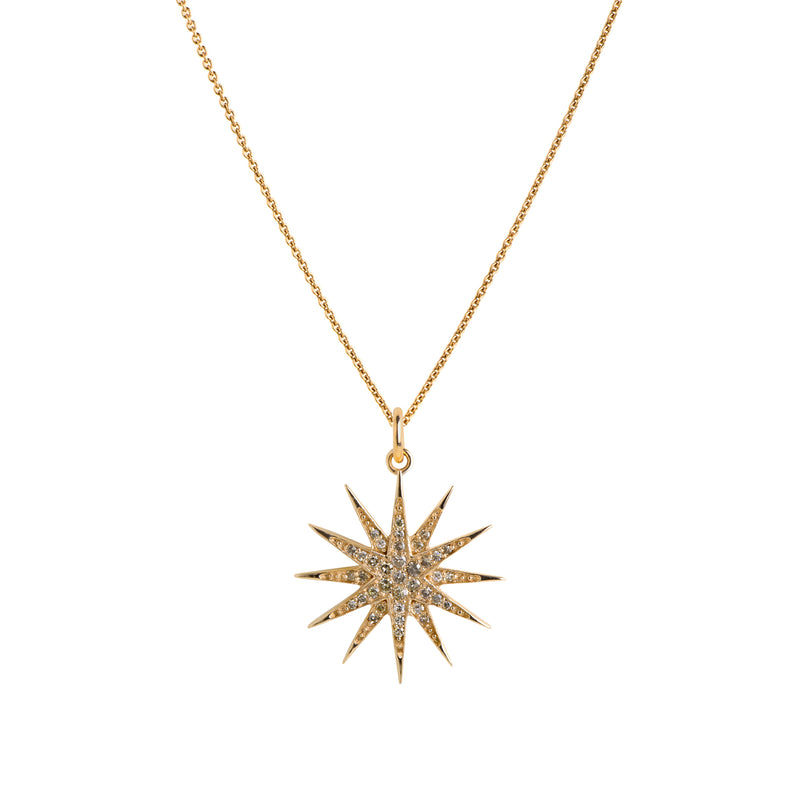 STARBURST DIAMOND NECKLACE