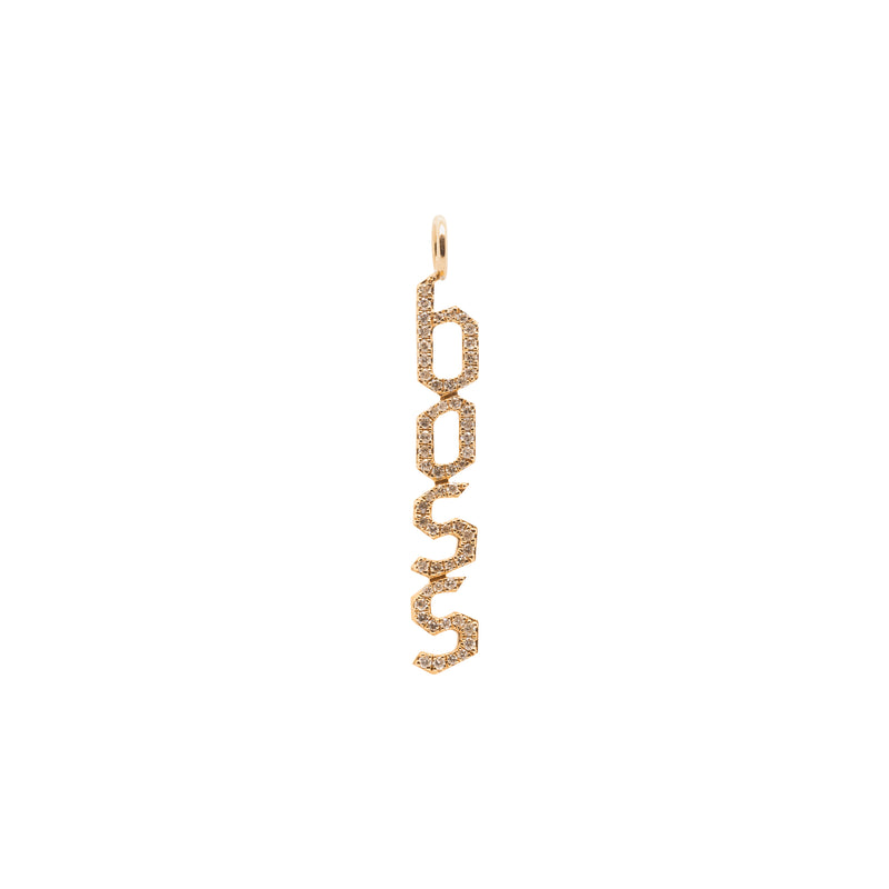 BOSS DIAMOND PENDANT - Bridget King Jewelry