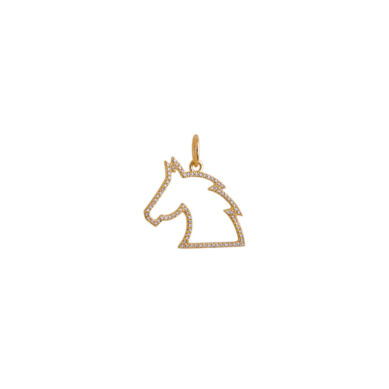 SMALL HORSE HEAD PENDANT