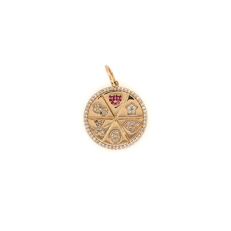 LOVE MEDALLION PENDANT