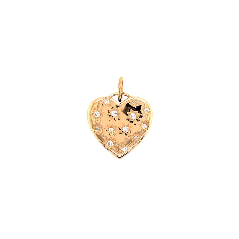 STARRY HEART PENDANT