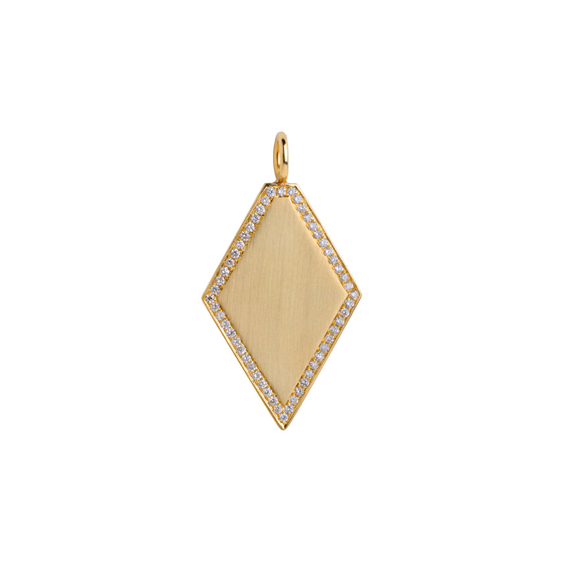 DIAMOND SHAPED PENDANT - Bridget King Jewelry