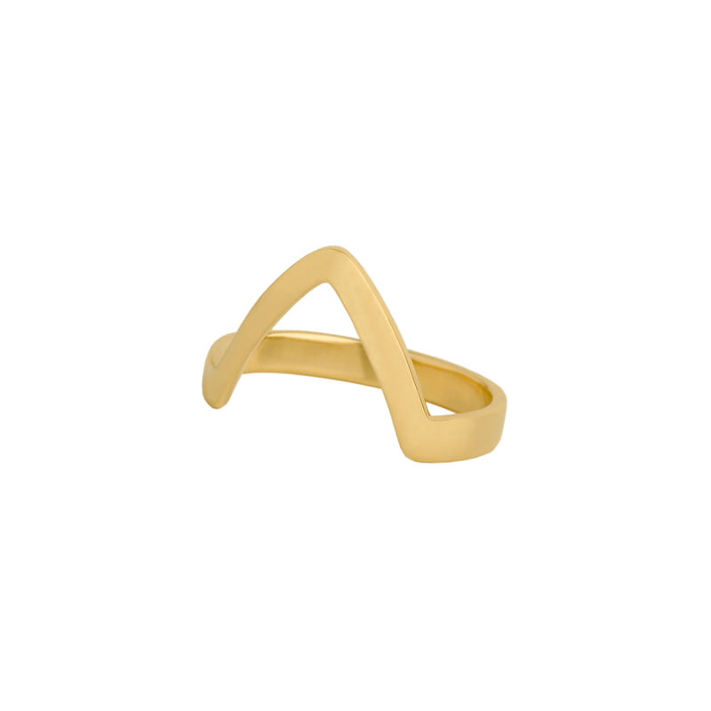 SINGLE CHEVRON RING - Bridget King Jewelry