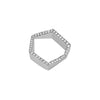 HEXAGON DIAMOND RING - Bridget King Jewelry