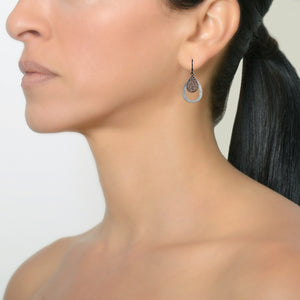 MINI PAVÉ & SMALL STACKABLE TEARDROPS - Bridget King Jewelry